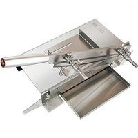 Haushaltsfleisch Slicer Maschine Gefrorene Fleisch Knochen Schneidemaschine Kommerziellen Edelstahl Hähnchen Ente Fisch Lammkippen CUTTER1