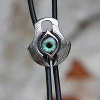 acero inoxidable corbata bolo ojo original de resina bolotie diseñador para los hombres accesorio de moda de la personalidad corbata 201027