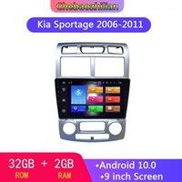 Android 10.0 per Kia Sportage 2006-2011 Multimedia Stereo Auto Player Navigazione GPS Radio WiFi Volante Bluetooth Controls1