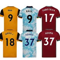 Kit Kits Wolves Neves Raul Terceiro Camisas de futebol 2020-21 Adama Diogo J. Coady Neto Podência Doherty Boly J.otto Casa Fora