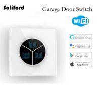 Controlador de puerta de garaje inalámbrico Controlador de abridor WiFi Interruptor inteligente WiFi Control remoto inteligente para puerta de puerta Botón de interruptor de puerta de garaje universal