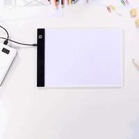 Elektronik Boyama Çizim Kurulu A5 Dim LED Dijital Tablet Çizim Kopya Pad Kurulu Eğitici Oyuncaklar Yaratıcılık Bebek Oyuncakları VT1728
