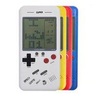 Jeux portables joueurs cadeau rétro classique enfance Tetris Handheld LCD Jeux électroniques Jouets Console Console Toys éducatifs1