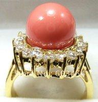 Бесплатная доставка Pring Ring Shell Pearl Crystal Jewelry