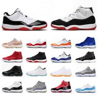 2020 Sneakers Concord 23 Shas-High WMNS 11 11s Mens Donne da donna Scarpe da basket XI Bred Jumpman 45 Cap e Abito Space Jam Trainer