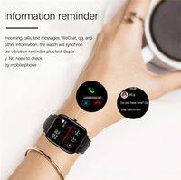 Nuevo reloj inteligente Mujeres deportes Fitness ritmo cardíaco de la presión arterial Monitor Multifuncional Lady Watch Waterproof Smartwatch