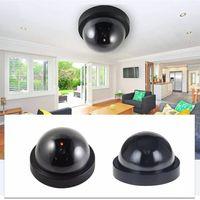 Falso Manequim IR Camera LED Câmera Dome CCTV Simulado Segurança Video Signal Generator Home Security Fontes GGD2125