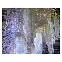 1M Long Artificial Silk Flowers Wisteria Vine Rattan 20 Colors Falske Flower Table Centerpieces Decoração de Casamento Su Jllbcc Lucky2005