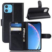 Iphone 12 Cüzdan Deri Flip Kılıf Kapak için Iphone 12 pro maksimum 11 XR XS MAX 7 8 artı Samsung S20 Artı Not 20 S20 FE Standı