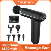 YouMay Mini Massage Gun Gapia Gun Sport Therapy Mouscle Massager Counter Relaxation Bail Relize Change Pharing Massager Z1209