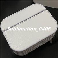 300pcs Airpod Pro Case com cola e folha de alumínio para impressão de calor de sublimação 2D Impressão DIY design personalizado para iphone x xr 12