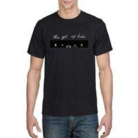 TSDFC The Get Up Kids Art Мужская базовая футболка с коротким рукавом Унисекс Мужчины Женщины футболка1