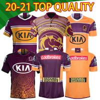 2020 2021 Brisbane Broncos Anzac Round Polo Jersey Best 20 21 Chemise de rugby National League Brisbane Broncos Nice Rugby Jerseys S-5XL