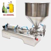 Processadores de alimentos 50-3000ml elétrica pneumática dupla cabeça de enchimento líquido shampoo gel água vinho leite máquina de bebida11