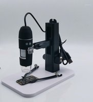 1-200x / 500x / 800x / 1000x / 1600x Microscopio TVL Microscopio de mano AV Microscopio AV Cámara 1