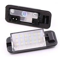 Interiorexternal Lights 2PCS LED Liense Plate Light 2835 SMD 6000K Белый 12V Номерные лампы для E36 318i 318is 318Ti 325i1