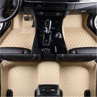 Lunda Pu en cuir Tapis sur mesure pour BMW GT F10 F11 F15 F16 F20 F25 F30 F34 E60 E70 E90 1 3 4 5 678 Série XDrive Tapis de sol de voiture