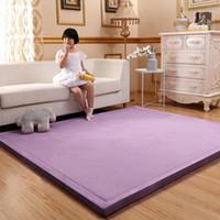 Spessore 3 cm Coral Fleece Velvet Mat Bedroom Bedroom Tappeto addensato Baby Scalato Playmat Giapponese Tatami Lvingroom Tappeto Large Size Mattess1