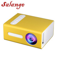 Proiettore Salange T300 mini LED 1400 lumen 3.5mm 320x240 HDMI Mini USB Beamer Home Media Player supporto HD pieno 1080P