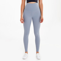 "yogaworld 슈퍼 하이 하이 웨이스트 요가 레깅스 체육관 옷 여자 카프리스 땀을 흘리며 누드 느낌 휘트니스 요가 바지 스타킹 28 """