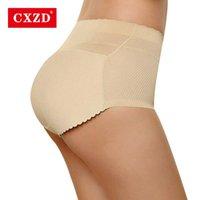 CXZD Женщины формируют губку губчатую Bulifter Allifter Obdant Lady Brolks Push Up Up Hip Enhancer Affended трусики и трусы нижнее белье