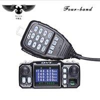 QYT KT-7900D 25W Quad bande mobile Walkie Walkie Talkie 144/220/350 / 440mHz 4 bandes Emetteur-récepteur FM de QYT KT8900 voiture radio1