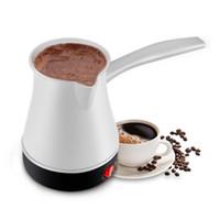 Mini Turquia Potenciômetro Máquina De Café Máquina Portátil Potenciômetro Elétrico Cozinha Fervido Leite Chaleira Para O Presente 220V 0.55L