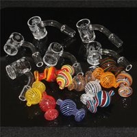 Dome Nail Glass Reclaim Catcher Adapter 14mm 18mm Male Female 45° 90° Reclaimer Ash Catcher Adapter For Glass Water Bongs Dab Rigs