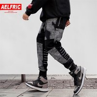 ANLICHIQUE Coton Sweatpants Hommes Vêtements Joggers Automne Hiver Nouveau Design Hip Hop Harem Pantalons Fashion Casual Streetwear Ka19 Y200116