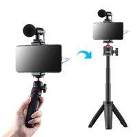 Tripod Selfie Sopa Anti-Shake Kararlı Telefon Stabilizatör Selfie Sopa Video Çekim Vlog Canlı Cihaz Kamera Motion Handheld PTZ1