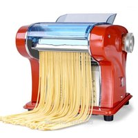 Fabricants de nouilles électriques Appuyez sur la machine Pâtes Maker Maker Homeuse Acier inoxydable Doumetter Dumplings Nouilles Rouleaux Faire des emballages de farine1
