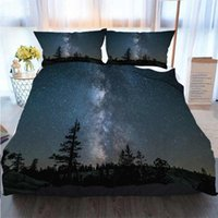 Merry Christmas Duvet Cover Set Milky Way In Yosemite Duvet ...