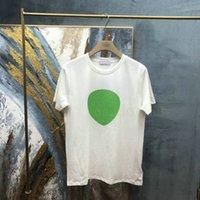 2021 Neue Ankunft Paris Designer T-shirts Herren Brief Druck T-shirt Mode Herren T-shirts Frauen Baumwolle Kurzarm Tshirt Freizeit Tops T-Shirt