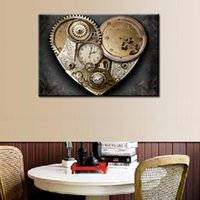Gear false clock series 5d diy diamond painting cross stitch...
