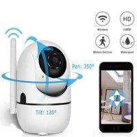 1080p Cloud Caméra IP sans fil Smart Track Humain Mini WiFi Cam Home Security Sécurité Webcam Surveillance CCTV Réseau Baby Pet Monitor Vision nocturne
