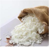 Material de cera de soja con forma de escama de alta calidad SOJA PARA DIY Suministros hechos a mano Cera de cera natural con perfumado Vela F Jlldgw