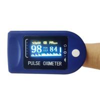 Digital Fingertip Oxímetro de Pulso LED Display Sangue oxigênio Sensor Saturação SpO2 Monitor Medidor de Medição Portátil