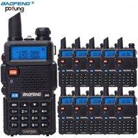 10 pcs baofeng uv-5r walkie talkie vhf uhf banda dupla uv5r portátil cb estação de rádio handheld uv 5r de dois sentidos rádio ham1