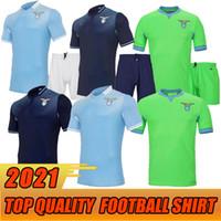 20 21 Lazio Soccer Jersey 2020 2021 Lazio Football Complet Luis Alberto J.Correa Camiseta دي Fútbol Immobile سيرجج