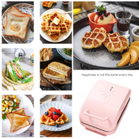 Waffles Maker Iron Bubble Baking Eggs Oven Pancake Sandwiche...