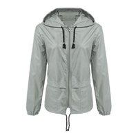 Giacca da donna 2020 impermeabile giacca a vento giacca con cappuccio cappotto esterna escursionismo vestiti leggeri impermeabile impermeabile impermeabile per donna 9aug