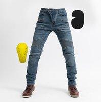 Nuovo cross-country moto dei jeans da moto a cavallo dei pantaloni all'aperto corsa pantaloni da moto