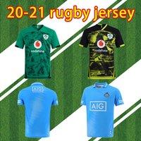2021 كأس العالم أيرلندا الركبي الفانيلة الأيرلندية IRFU NRL مونستر مدينة الركبي دوري Leinster البديل جيرسي 20 21 ulster إيرلندي قميص S-5XL