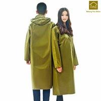 Regen Ausrüstung Safe Outdoor Lange Wandern Polyester Poncho Durable Cover Regenmantel Ispesinsimento Wasserdichte Raincoats SKR001
