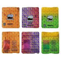 Koko Nuggz Runtz Baggies Yemekleri Mylar Çanta 500mg 0.5g Boş Gummies Paketi Perakende Depolama Koku Geçirmez Fermuar Kılıfı