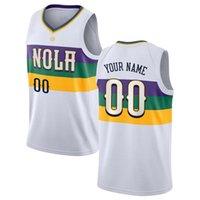 """Пользовательские Zion 1 Williamson Basketball Lonzo 2 Ball New Orleans """"Pelicans"""" Джетки Brandon 14 Ingram J.J. 4 Редика 11 праздничных майок"""