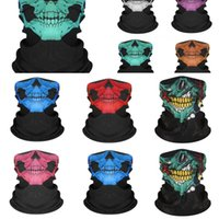 Black Magic Ice Silk Mask Matter Skull Outdoor Protective #1...
