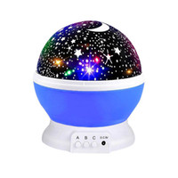 360 Derece Romantik Oda Döner Evren Yıldız Projektör Işık Starry Sky Moon gece Projektör Çocuk Odası Lamba Noel