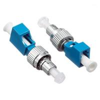 Équipement à fibre optique LC / UPC femelle à FC / UPC mâle LC-FC SM 9/125 adaptateur hybride Adaptateur Optical Adaptateur FC LC Converter1