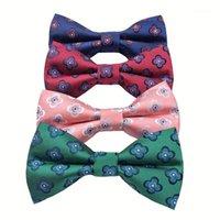 Boyun Kravatlar Yay Klasik Moda Çiçek Kravat Düğün Erkekler Için Iş Papyon Boyunback Mikrofiber Kelebek STUXEO TIES1